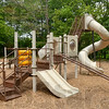 Tribune-Star/Joseph C. Garza<br /> Scoot the chutes: Plans to move Prairie Creek Park's playground are in the design stages. The playground will also be expanded to about 900 square feet.