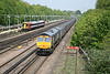 21 May 2012 :: 66727 approaches Basingstoke with 4Y19, Mountfield to Southamptom gypsum train