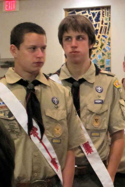 Jacob - OA recognition at Court of Honor
