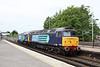 31 May 2012 :: 57002 & 57309 at Basingstoke as train 0Z35 from Eastleigh to Crewe