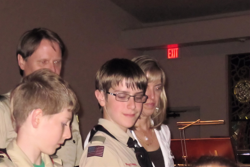 Anthony - 2nd. Class Rank Advancement