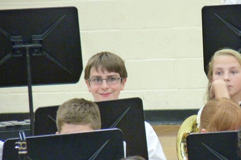 Anthony's sixth grade spring band concert