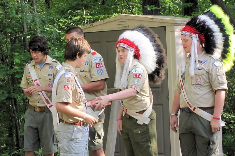 Jacob - OA recognition at Camp Grimes