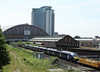 30 May 2012 :: A closer view of 395019 which was being towed from Dollands Moor to York by 60015 as it passes Earls Court