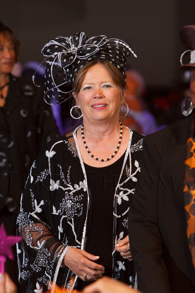 """""""Women With Hattitude--Act Seven,"""" benefiting the Denver Center for Perfroming Arts' Women's Voices Fund, at the Donald R. Seawell Grand Ballroom, Denver Center for Performing Arts, in Denver, Colorado, on Thursday, May 3, 2012.<br /> Photo Steve Peterson"""