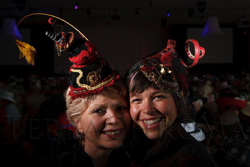"""Women With Hattitude--Act Seven,"" benefiting the Denver Center for Perfroming Arts' Women's Voices Fund, at the Donald R. Seawell Grand Ballroom, Denver Center for Performing Arts, in Denver, Colorado, on Thursday, May 3, 2012.<br /> Photo Steve Peterson"