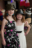 "Madison (8) and Mikayleigh (7) Harman.  ""Women With Hattitude--Act Seven,"" benefiting the Denver Center for Perfroming Arts' Women's Voices Fund, at the Donald R. Seawell Grand Ballroom, Denver Center for Performing Arts, in Denver, Colorado, on Thursday, May 3, 2012.<br /> Photo Steve Peterson"