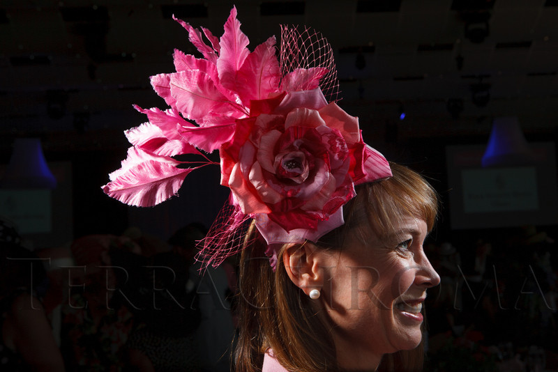 """Andrea Dikeou.  """"Women With Hattitude--Act Seven,"""" benefiting the Denver Center for Perfroming Arts' Women's Voices Fund, at the Donald R. Seawell Grand Ballroom, Denver Center for Performing Arts, in Denver, Colorado, on Thursday, May 3, 2012.<br /> Photo Steve Peterson"""