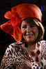 "Juanita Chacon.  ""Women With Hattitude--Act Seven,"" benefiting the Denver Center for Perfroming Arts' Women's Voices Fund, at the Donald R. Seawell Grand Ballroom, Denver Center for Performing Arts, in Denver, Colorado, on Thursday, May 3, 2012.<br /> Photo Steve Peterson"