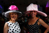 """Georgia Akey and Lois Paul.  """"Women With Hattitude--Act Seven,"""" benefiting the Denver Center for Perfroming Arts' Women's Voices Fund, at the Donald R. Seawell Grand Ballroom, Denver Center for Performing Arts, in Denver, Colorado, on Thursday, May 3, 2012.<br /> Photo Steve Peterson"""