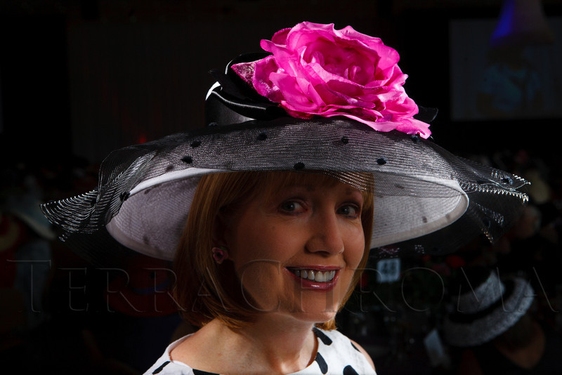 """Georgia Akey.  """"Women With Hattitude--Act Seven,"""" benefiting the Denver Center for Perfroming Arts' Women's Voices Fund, at the Donald R. Seawell Grand Ballroom, Denver Center for Performing Arts, in Denver, Colorado, on Thursday, May 3, 2012.<br /> Photo Steve Peterson"""