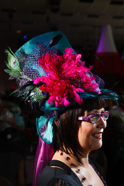 """Jessika Aerni.  """"Women With Hattitude--Act Seven,"""" benefiting the Denver Center for Perfroming Arts' Women's Voices Fund, at the Donald R. Seawell Grand Ballroom, Denver Center for Performing Arts, in Denver, Colorado, on Thursday, May 3, 2012.<br /> Photo Steve Peterson"""