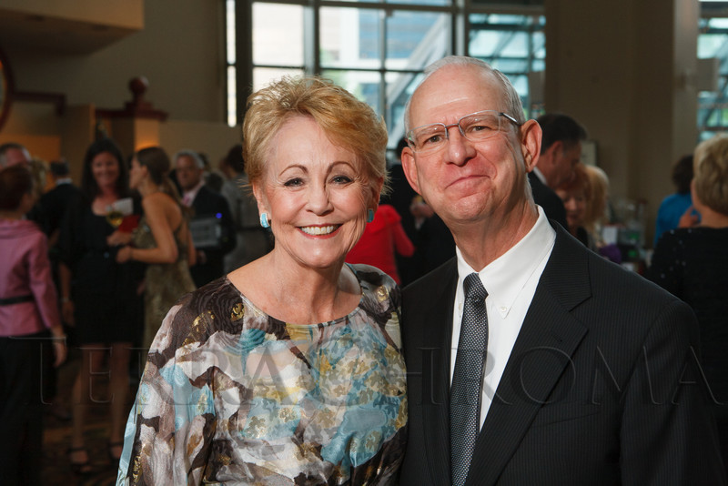 """Anna Lee and Mark Frohlich.  Hope Ball, themed """"Dedicated to the Ones We Love,"""" benefiting the Cancer League of Colorado, at the Hyatt Regency Denver Tech Center in Denver, Colorado, on Saturday, May 5, 2012.<br /> Photo Steve Peterson"""