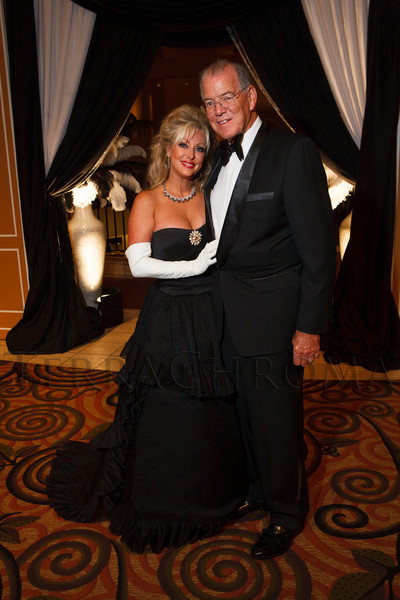 """Stephanie and Perry Odak.  Hope Ball, themed """"Dedicated to the Ones We Love,"""" benefiting the Cancer League of Colorado, at the Hyatt Regency Denver Tech Center in Denver, Colorado, on Saturday, May 5, 2012.<br /> Photo Steve Peterson"""