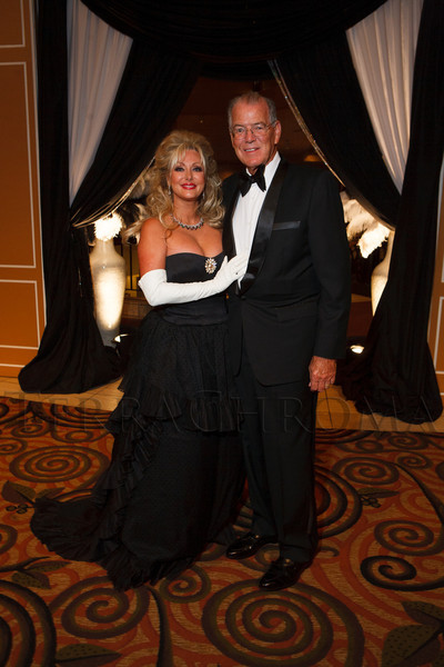 "Stephanie and Perry Odak.  Hope Ball, themed ""Dedicated to the Ones We Love,"" benefiting the Cancer League of Colorado, at the Hyatt Regency Denver Tech Center in Denver, Colorado, on Saturday, May 5, 2012.<br /> Photo Steve Peterson"