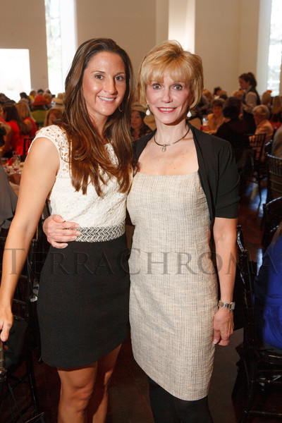 "Brittany and Pamela Crowe.  ""Luncheon by Design: Yves Saint Laurent & Pierre Bergé,"" benefiting the Department of Architecture, Design & Graphics, at the Denver Art Museum in Denver, Colorado, on Wednesday, May 9, 2012.<br /> Photo Steve Peterson"