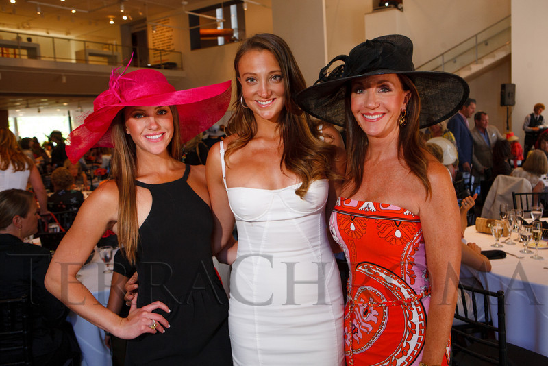 "Katie, Ellese, and Debra McKenney.  ""Luncheon by Design: Yves Saint Laurent & Pierre Bergé,"" benefiting the Department of Architecture, Design & Graphics, at the Denver Art Museum in Denver, Colorado, on Wednesday, May 9, 2012.<br /> Photo Steve Peterson"