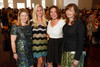 "With the Denver Art Museum:  Mary Peck, Melissa Caplan, Laura Bennison, and Donna Kerwin.  ""Luncheon by Design: Yves Saint Laurent & Pierre Bergé,"" benefiting the Department of Architecture, Design & Graphics, at the Denver Art Museum in Denver, Colorado, on Wednesday, May 9, 2012.<br /> Photo Steve Peterson"