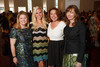 """With the Denver Art Museum:  Mary Peck, Melissa Caplan, Laura Bennison, and Donna Kerwin.  """"Luncheon by Design: Yves Saint Laurent & Pierre Bergé,"""" benefiting the Department of Architecture, Design & Graphics, at the Denver Art Museum in Denver, Colorado, on Wednesday, May 9, 2012.<br /> Photo Steve Peterson"""