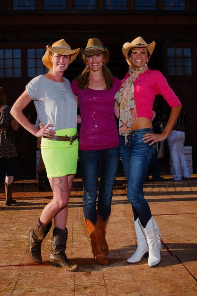 Volunteers:  Lori Auguste, Stacey Banks, and Sam Boik.  The Barn Party, benefitting Denver Active 20-30 Children's Foundation, at the Polo Reserve Development in Littleton, Colorado, on Saturday, May 19, 2012.<br /> Photo Steve Peterson