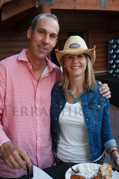 Drew Peterson and Tami Haith.  The Barn Party, benefitting Denver Active 20-30 Children's Foundation, at the Polo Reserve Development in Littleton, Colorado, on Saturday, May 19, 2012.<br /> Photo Steve Peterson