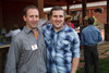Dave Sjerven (DA20-30 president) and Caleb Hester (event chairman).  The Barn Party, benefitting Denver Active 20-30 Children's Foundation, at the Polo Reserve Development in Littleton, Colorado, on Saturday, May 19, 2012.<br /> Photo Steve Peterson