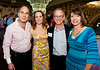 l to r: Dr. Richard and Sabrina Korentager, with Terry and Julie Levine
