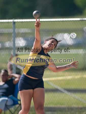 CAAC Blue - Girls Shot Put