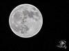 Super Moon and Stars