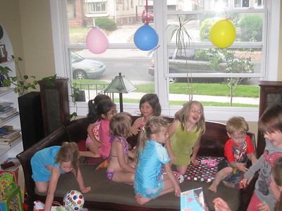 Mia's Fifth Birthday Party
