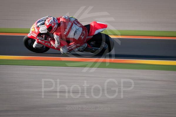 MotoGP 2012 Valencia Moto2 Test