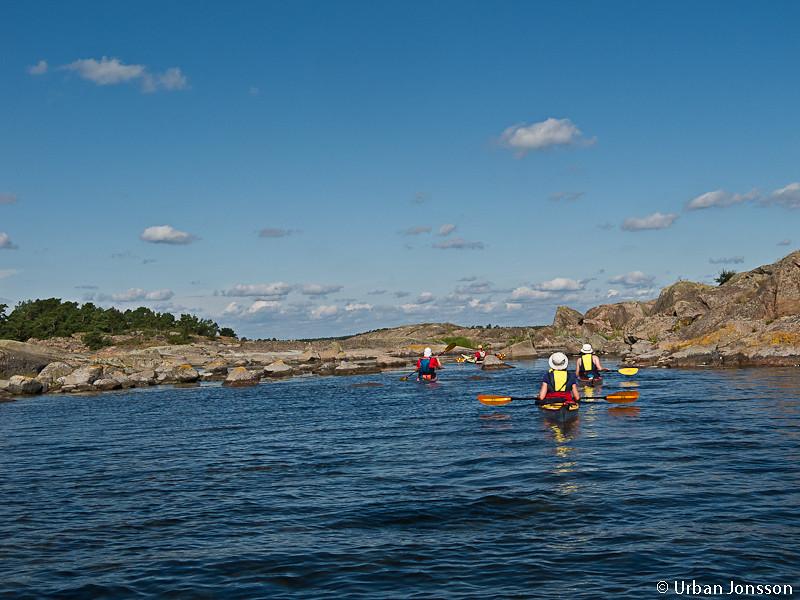 Mr Hult är fullt av fina små passager öarna norr om Boskär var inget undantag.