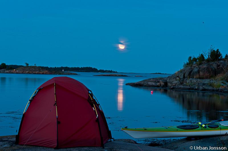 MRNatten bjöd på ett riktigt fint månsken.