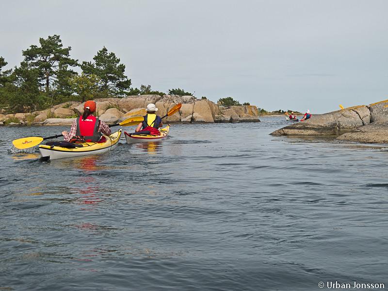 Passage vid Nötgårdsö