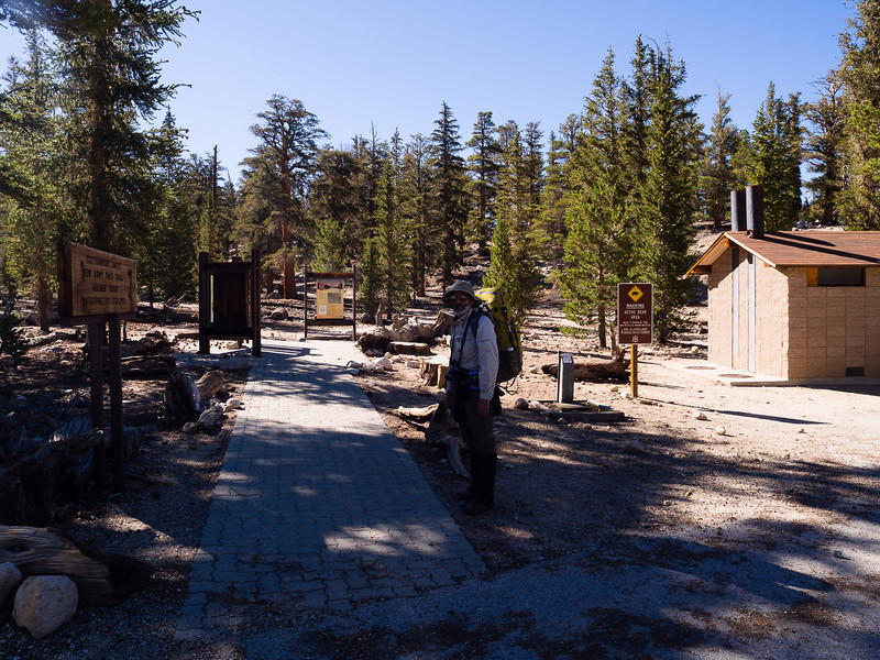 Horseshoe Meadow trailhead