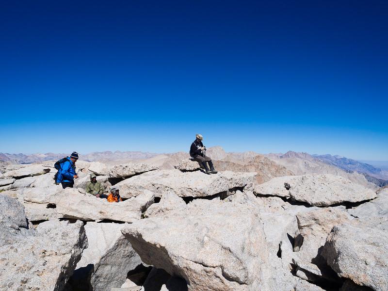 Summit of Mt. Langley