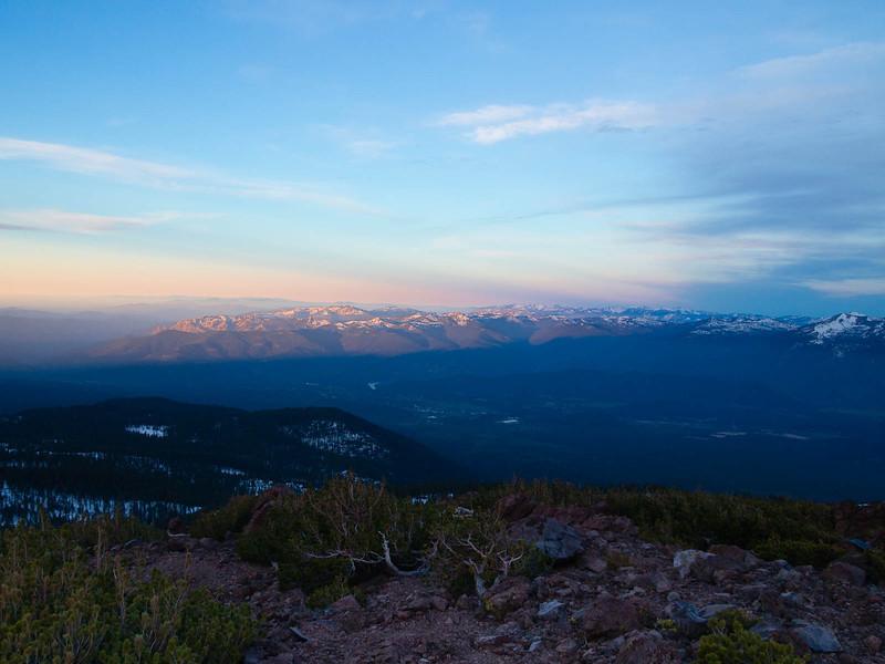 Klamath range