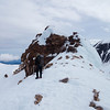 Traversing the ridge