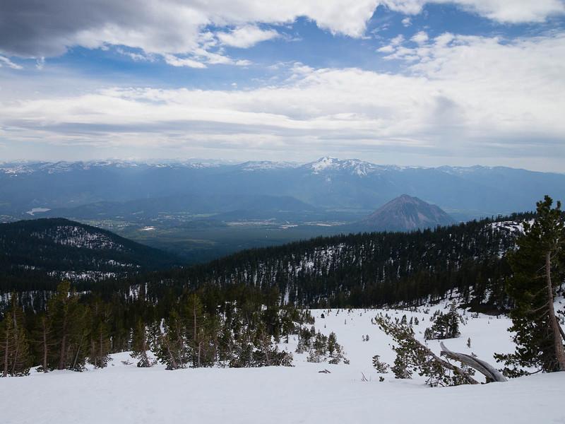 Westward, down to the Shasta valley