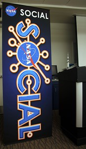 The new #NASAsocial banner