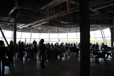 #NASAsocial #OV103 participants enjoy lunch