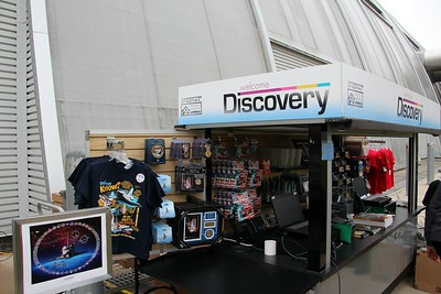Kiosk with special commemorative items