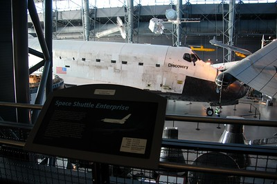 The sign for Enterprise will soon be replaced with one for Discovery