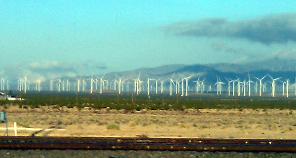 Windmills in Mojave, CA