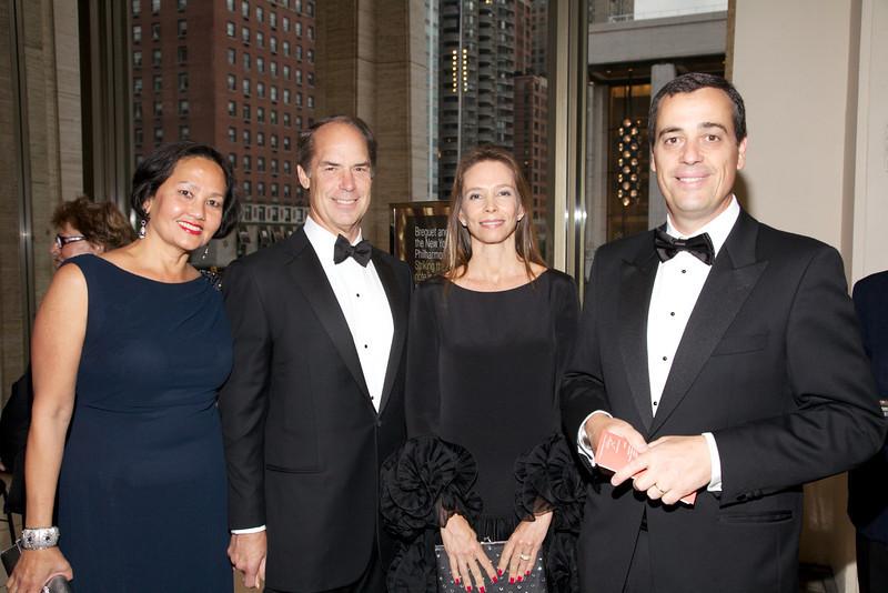 Gala Executive Vice Chairmen Agnes and Gerald L  Hassell; Gabriella and Antonio Quintella_photo by Julie Skarratt
