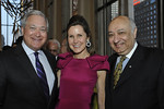 Board Member Timothy George and Cosby George with Philharmonic President and Executive Director Zarin Mehta attend The New York Philharmonic presents the Frank Loesser Songbook Spring Gala benefit at Avery Fisher Hall on March 26, 2012.  Photos of Pre-concert reception.<br /> <br /> Photo Credit: Stephanie Berger