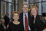 Gala Co-Chairman Jo Sullivan Loesser, Ted Chapin, and Heather Hitchens attend The New York Philharmonic presents the Frank Loesser Songbook Spring Gala benefit at Avery Fisher Hall on March 26, 2012.  Photos of Pre-concert reception.<br /> <br /> Photo Credit: Stephanie Berger