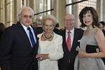 Ira and Ingeborg Rennert with Dr. Albert and Shirley Lefkowits attend The New York Philharmonic presents the Frank Loesser Songbook Spring Gala benefit at Avery Fisher Hall on March 26, 2012.  Photos of Pre-concert reception.<br /> <br /> Photo Credit: Stephanie Berger
