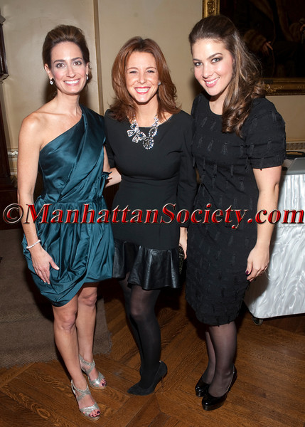 Cynthia Greenberg Irons, Stephanie Ruhle, Bridget Duffy attend The New York Junior League's Fall Fête on Friday, November 9, 2012 at The Union Club, 101 East 69th Street New York, NY (Photos by Christopher London ©2012 ManhattanSociety.com)
