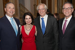 Robert I  Grossman, MD, dean and CEO NYU Langone, Lori Fink, James Speyer, MD, William Carroll, MD - Jay Brady Photography